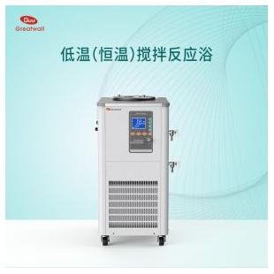 【郑州长城】低温恒温搅拌反应浴DHJF-8002立式高精度制冷恒温机