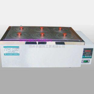 郑州长城数显电子恒温水浴多种规格供应不锈钢内胆上盖数显仪表控温