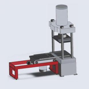 三思纵横YAW系列非标钢管压扁试验机