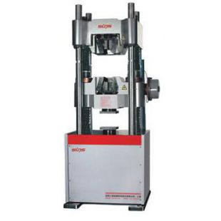 三思纵横WAW系列电液伺服万能试验机-W型钳口