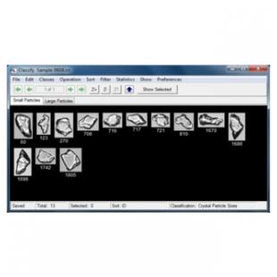 VisualSpreadsheet®颗粒成像分析软件