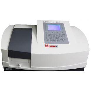 尤尼柯UV-3802准双光束扫描型紫外可见分光光度计(大屏幕LCD显示)