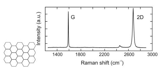 图1-1 纯石墨烯的拉曼光谱.png