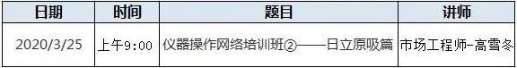 仪器操作网络培训班②——日立原吸篇
