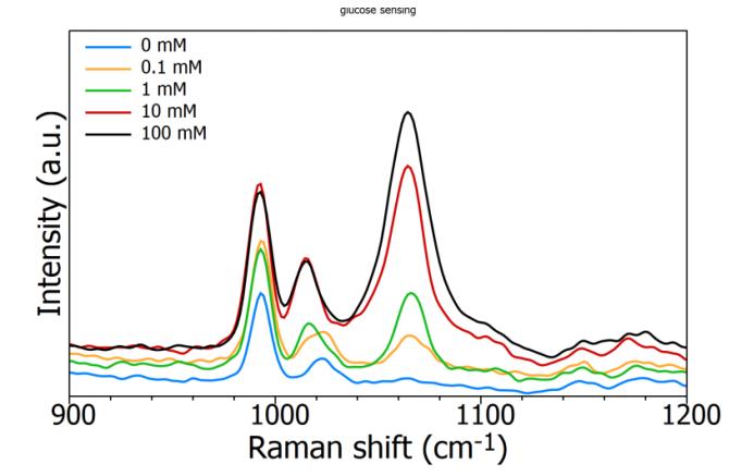 SERS 技术在葡萄糖传感的应用