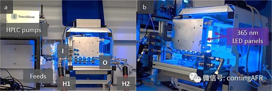 图2. 实验现场拍摄的康宁Lab Reactor光化学反应器照片.jpg
