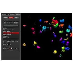 徕卡Wizard for Automatic 3D Analysis LAS X 3D Analys
