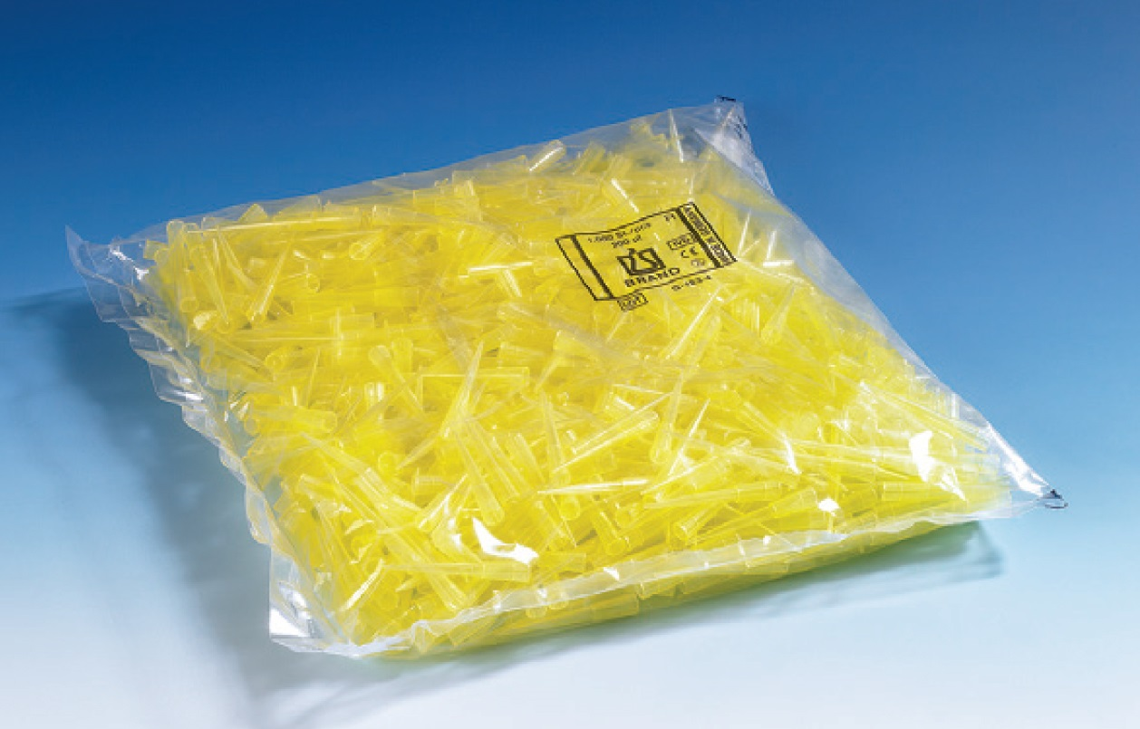 散装滤芯吸头,PP材质,PE材质滤芯,0.5-10 µl,无色,未灭菌,符合IVD标准