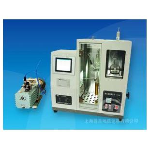 上海昌吉SYD-0165B型 減壓餾程測定器(半自動觸摸屏)