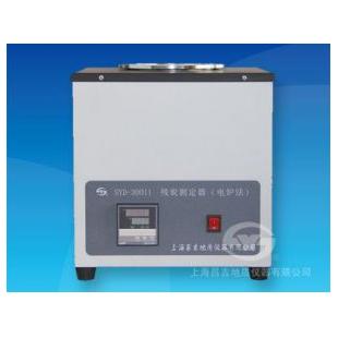 上海昌吉SYD-30011殘炭測定器(電爐法)