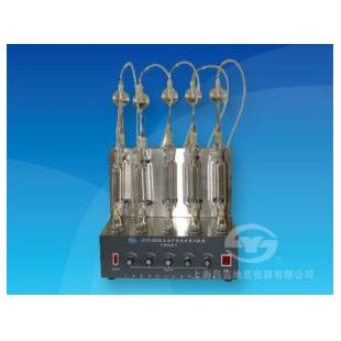 上海昌吉SYD-380B石油产品硫含量试验器(燃灯法)