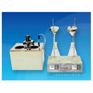 上海昌吉SYD-511B石油產品和添加劑機械雜質試驗器(重量法)