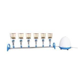 洛科  Rocker  MultiVac 610 - MS - A  六联矽胶塞式直排水过滤系统