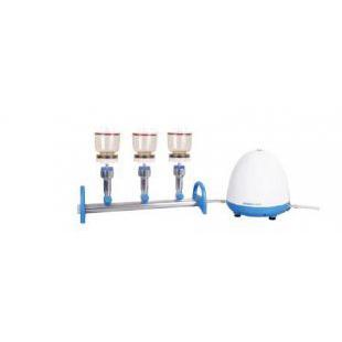 洛科  Rocker  MultiVac 310 - MS - A  三联矽胶塞式直排水过滤系统