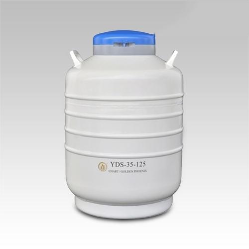 成都金凤贮存型液氮生物容器YDS-35-125