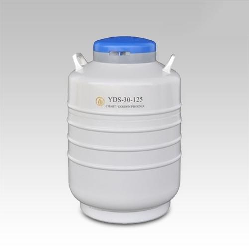 成都金凤贮存型液氮生物容器YDS-30-125