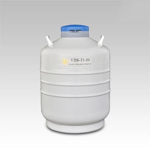 成都金凤贮存型液氮生物容器YDS-35-80