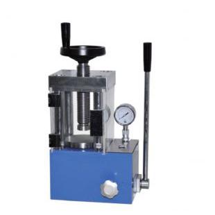 防护型手动粉末压片机(四立柱的压片机 都可以加防护罩)