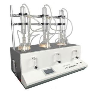 精拓三联二氧化硫检测仪 ZSO2-3000A