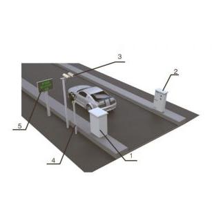 ZWIN-VE06水平固定式机动车尾气遥测设备