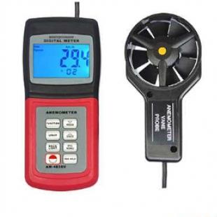 广州兰泰风向风速仪多功能风速表 AM-4836V (风速,风温,数据存储功能)