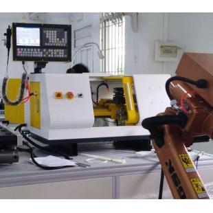 工业机器人上下料数控车床实训系统