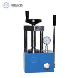 上海精胜JSP-15B手动粉末压片机 实验室红外压样机 二柱15吨