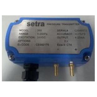 Setra 本安防爆型微差变送器2681250LD11CF1NE