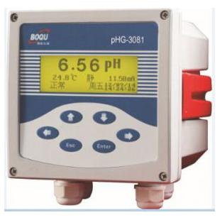 上海博取在线PH计 锅炉水PH测定仪PHG-3081