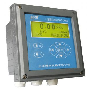 工业盐酸浓度计,SJG-2083浓度计上海博取