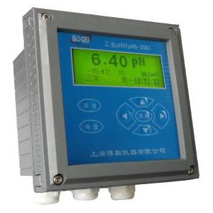 上海博取在線PH計酸度計PHG-2081型