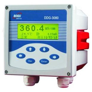上海博取仪器测蒸汽冷凝水中电导率,在线电导率仪DDG-3080