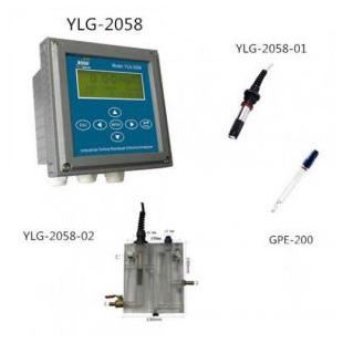 上海博取仪器在线余氯分析仪,YLG-2058,可以测余氯和PH
