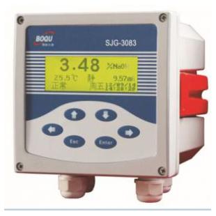 上海博取仪器在线硫酸浓度计SJG-3083,硫酸分析仪