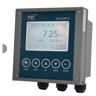 博取仪器在线PH计,PHG-2081X酸度计