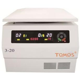 TOMOS 3-20 台式高速离心机
