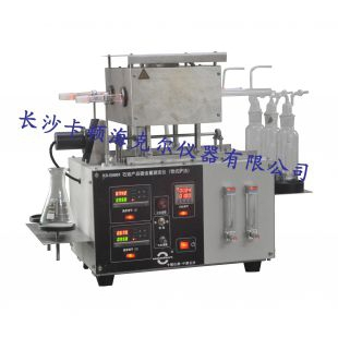 长沙卡顿石油澳门网上娱乐硫含量测定器(管式炉法)