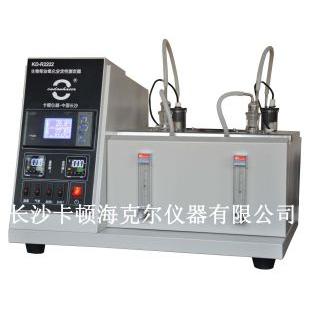 长沙卡顿第二代生物柴油氧化安定性测定器