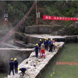 岩石劈裂机河道沟渠岩石拆除工程爆破机械