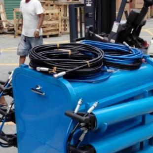 岩石劈裂机深圳天溢鹏专业生产工程爆破机械设备