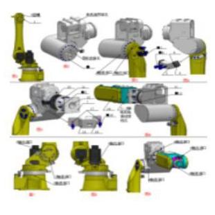 工业机器人拆装