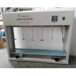 【常州中捷】HH-6A六联同步电动搅拌器