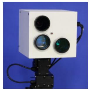 用于气溶胶监测的近红外全波形激光雷达