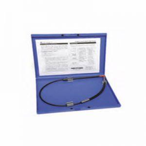 光纤探头,不锈钢,10 毫米可更换头