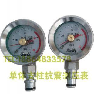 山东恒安其它煤炭行业专用仪器KZ-60/80支架支柱耐震测压单表KJ10/DN10