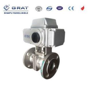 GRAT厂家供应法兰式电动球阀