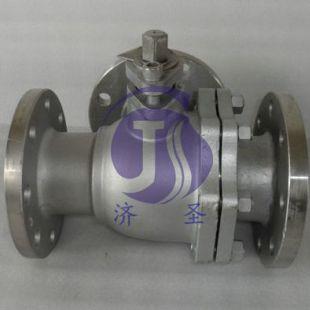 上海济圣专用仪器Q44PPL-16P三通球阀