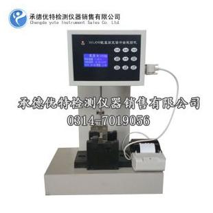 承德优特数显塑胶冲击试验机,简支梁塑料冲击试验机XCJD-5打印功能