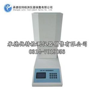 承德优特塑料熔融指数测试仪XNR-400A