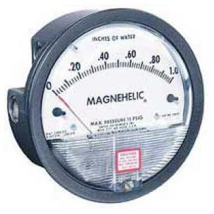 2000-250PA系列MAGNEHELIC压差表